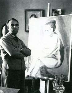 Il maestro nel suo studio